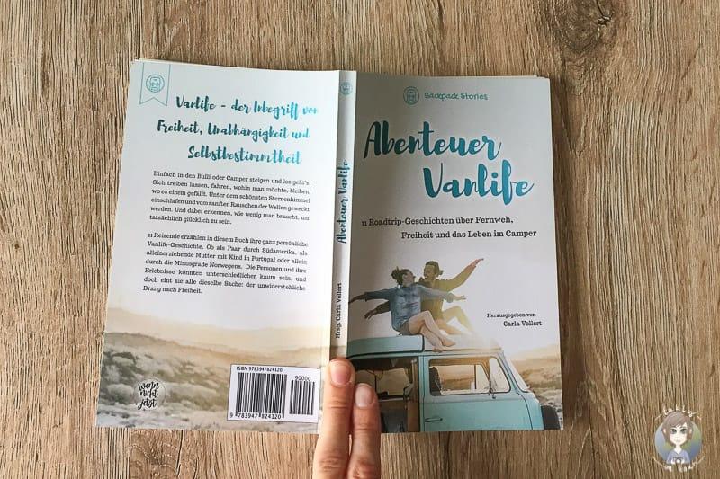 Roadtrip Geschichten im Buch Abenteuer Vanlife