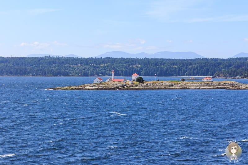 Aussicht auf der Fähre von Vancouver Island