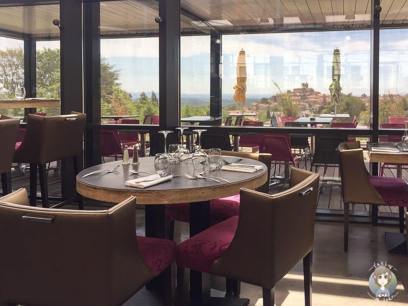 Aussicht vom Restaurant Carre Petanque Obut