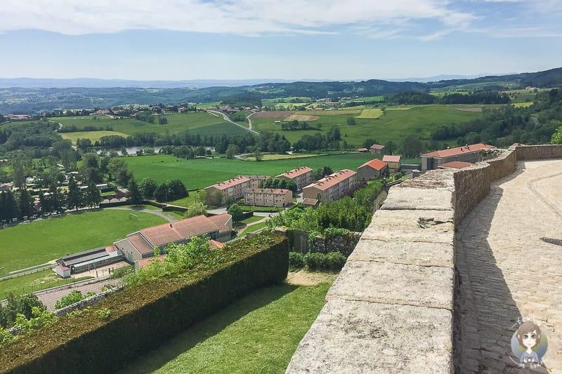 Aussicht von Saint-Bonnet-le-Château