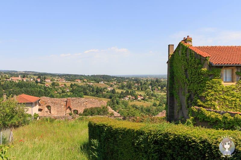 Aussicht von Saint Haon-le-Chatel