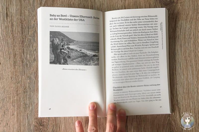 Blick ins Buch Abenteuer Vanlife
