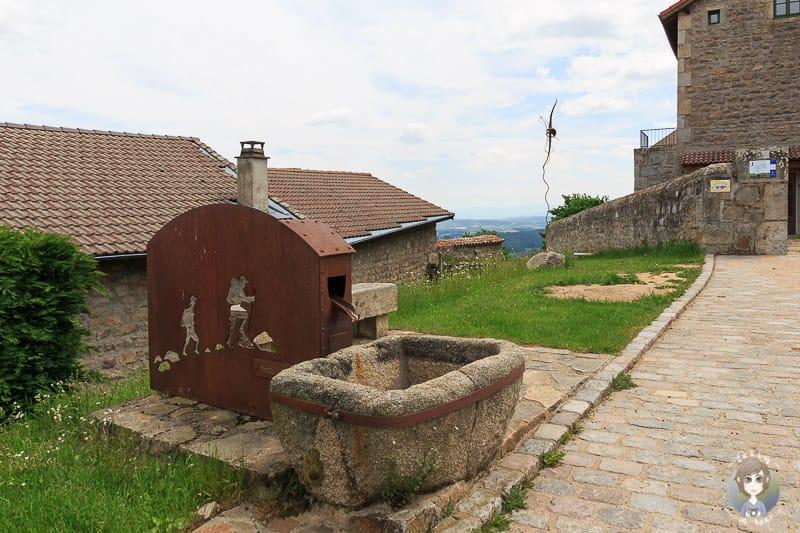 Brunnen Montarcher in Frankreich