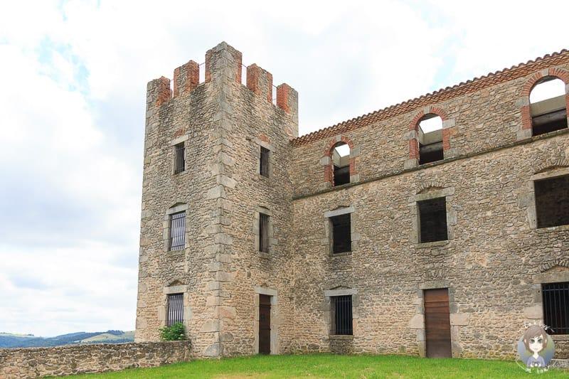 Chateau dEssalois in der Loire in Frankreich