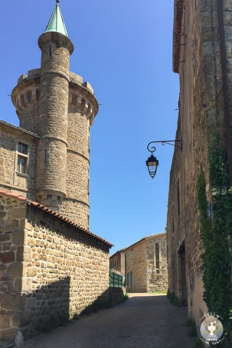 Chateau de Virieu in Pelussin Frankreich