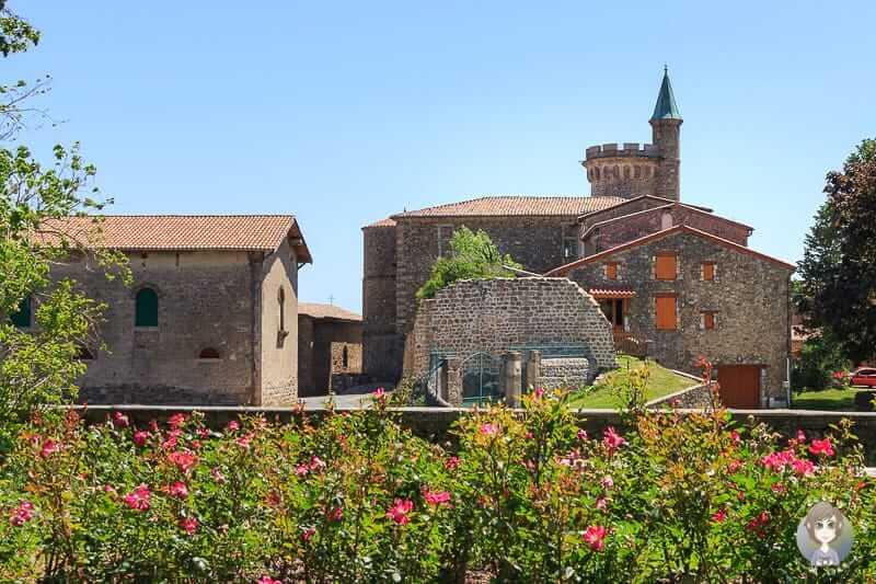 Chateau de Virieu in Pelussin