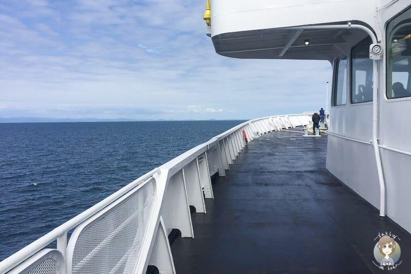Fahrt mit der Vancouver Island Ferry