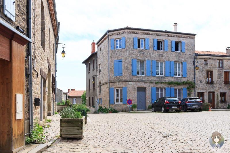 Altstadt von Saint-Bonnet-le-Chateau in Frankreich