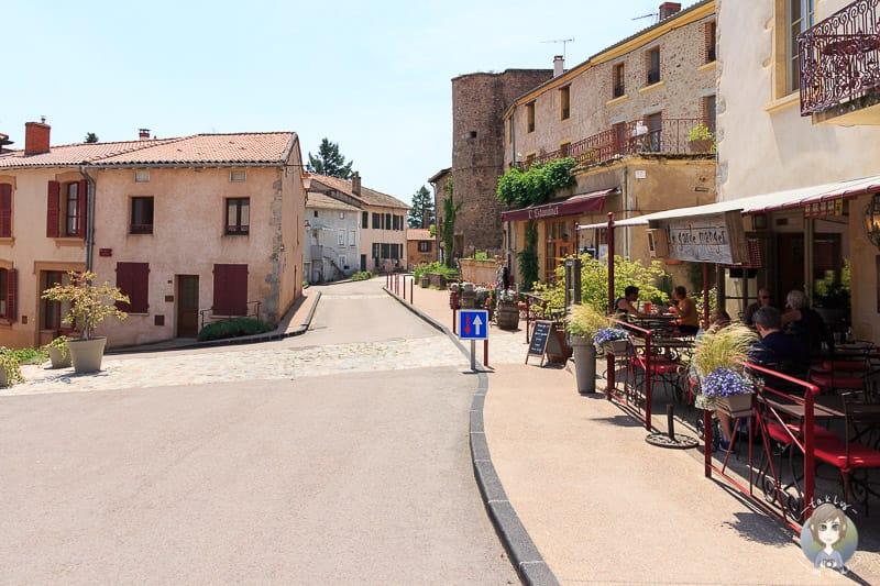 Hauptstrasse von Saint Haon-le-Chatel