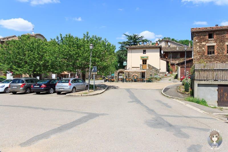 Hauptstrasse in Sainte-Croix-en-Jarez