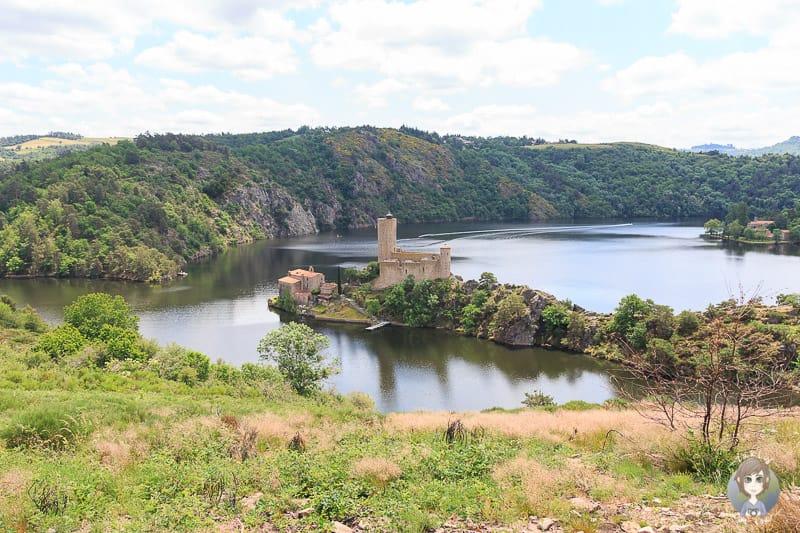 Ile de Grangent im Gorges de la Loire