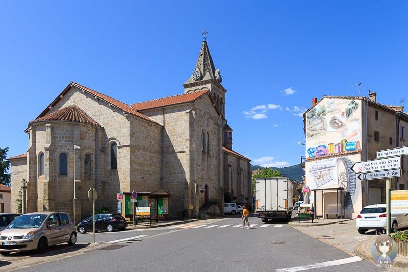 Kirche in Pelussin Frankreich