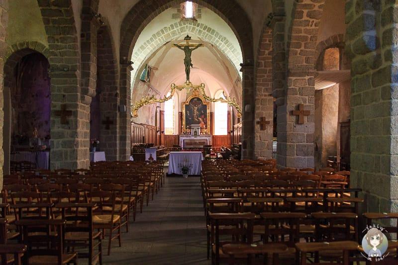 Innenraum der Kirche von Saint Haon-le-Chatel