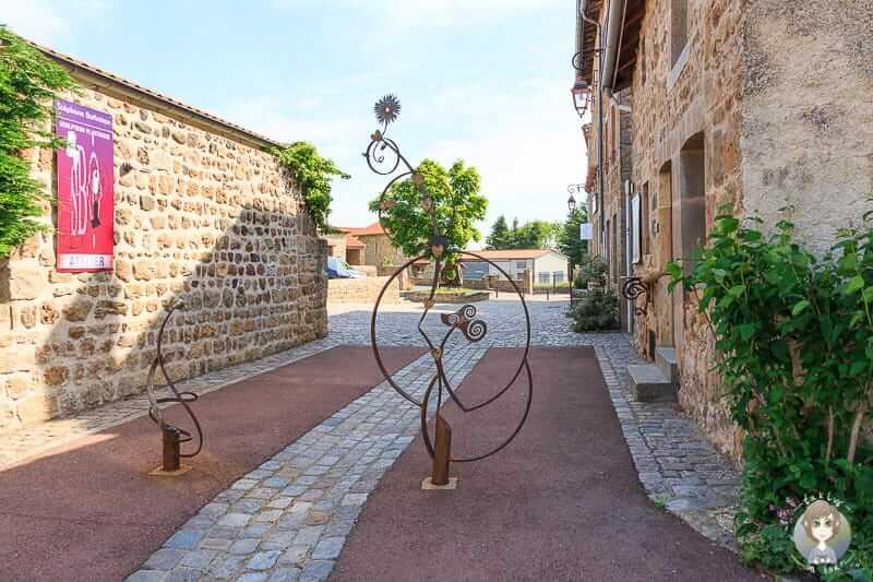 Künstlerdorf Marols in der Loire in Frankreich