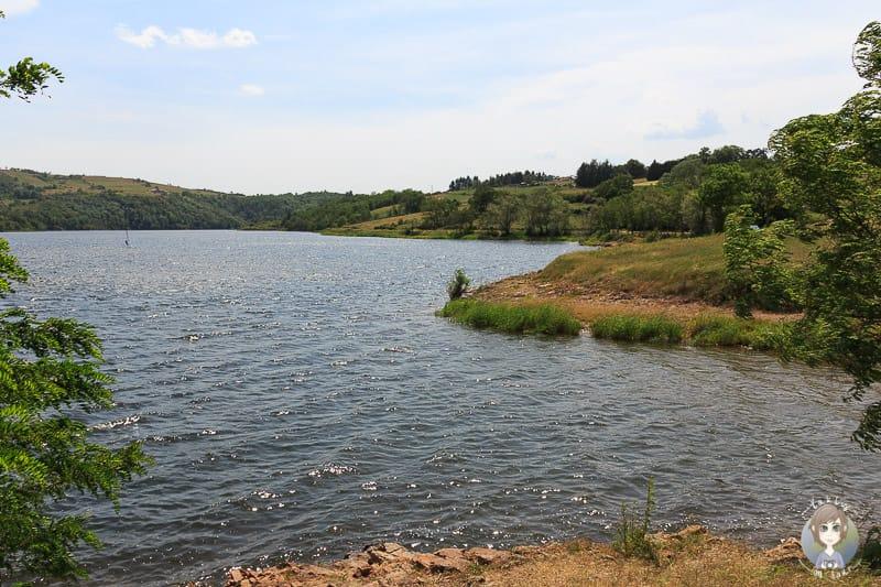 Lac de Villerest in der Loire