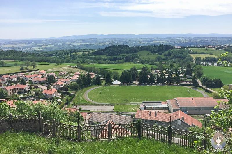 Landschaft um Saint-Bonnet-le-Chateau