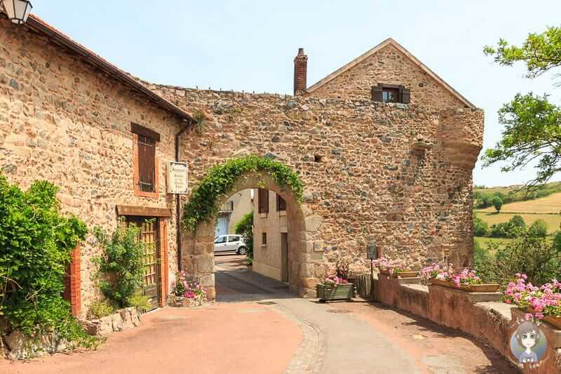 Porte du Ris Serpentin in Saint-Jean-Saint-Maurice sur Loire