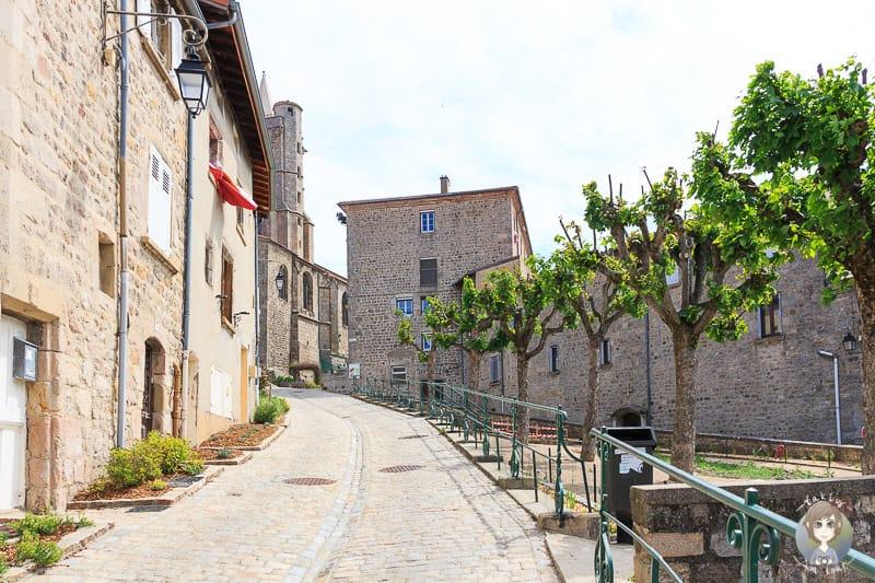Saint-Bonnet-le-Chateau im Departement Loire in Frankreich