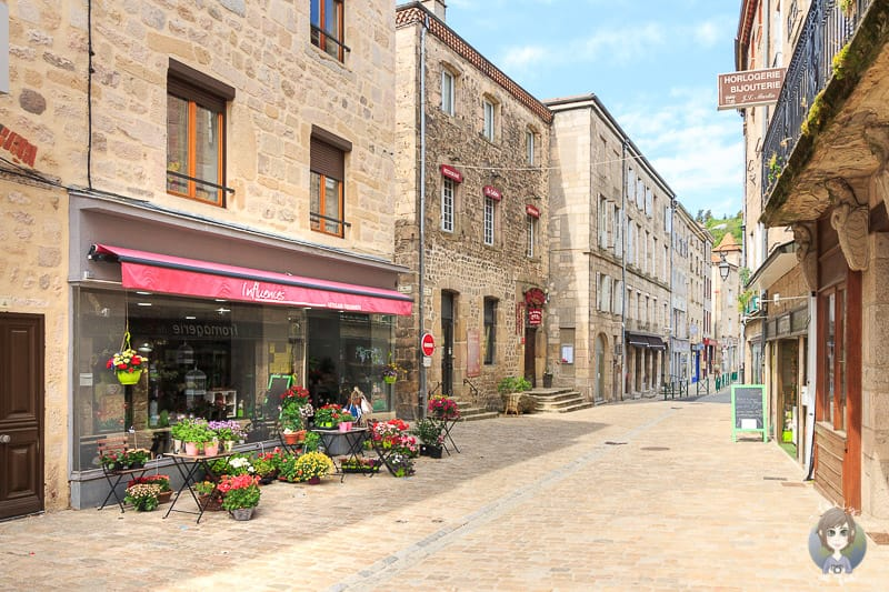 Zentrum von Saint-Bonnet-le-Chateau