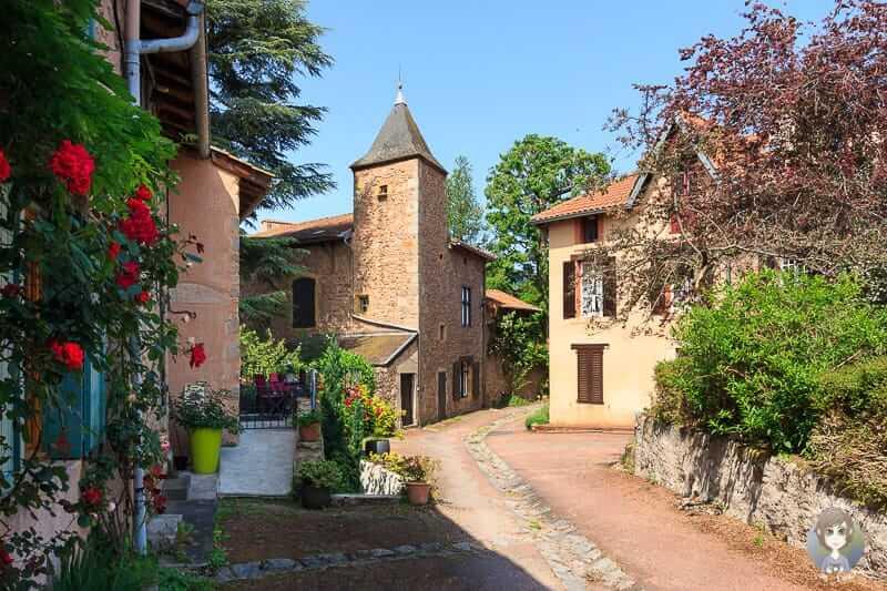 Saint Haon-le-Chatel in der Loire