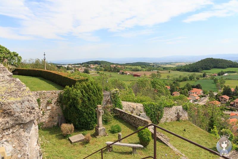 Stiftsgarten in Saint-Bonnet-le-Chateau