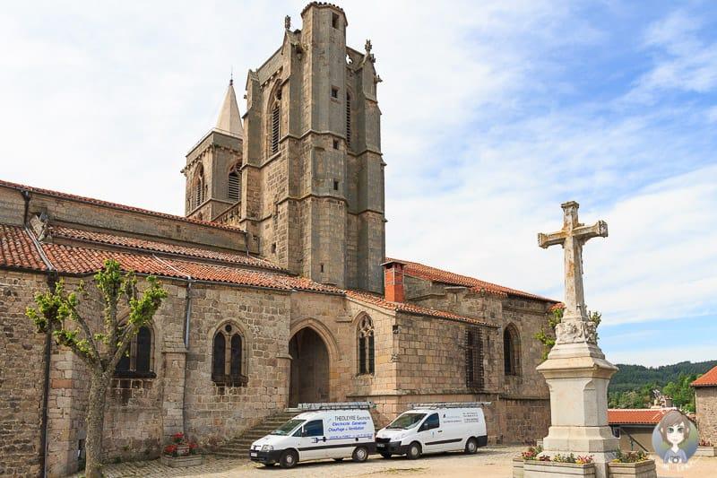 Stiftskirche in Saint-Bonnet-le-Chateau