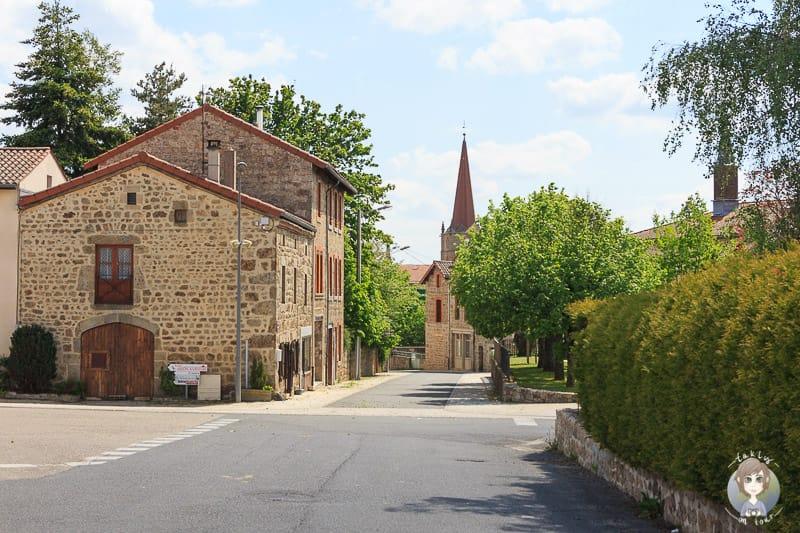 Usson-en-Forez in Loire Frankreich