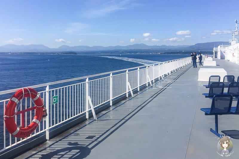 Auf der Vancouver Island Fähre