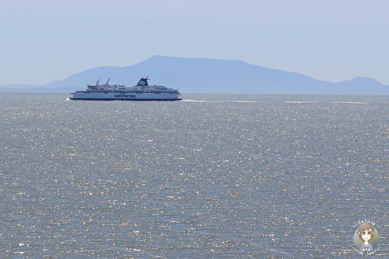 Blick auf die Vancouver Island Ferry