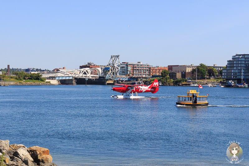 Anreise nach Vancouver Island mit dem Wasserflugzeug