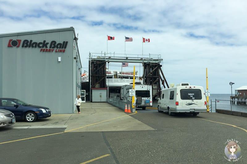Mit dem Wohnmobil auf die Fähre nach Vancouver Island