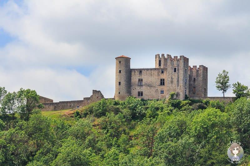 Zoom auf das Chateau dEssalois