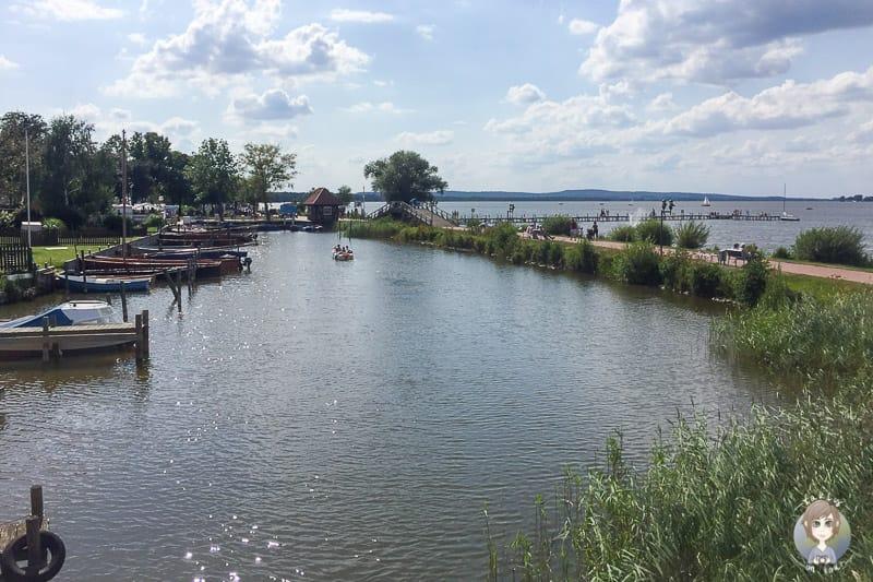 Promenade am Steinhuder Meer als Start unserer Baltikum Reise