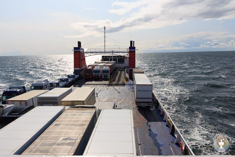 Mit der Stena Line geht es auf unsere Baltikum Rundreise
