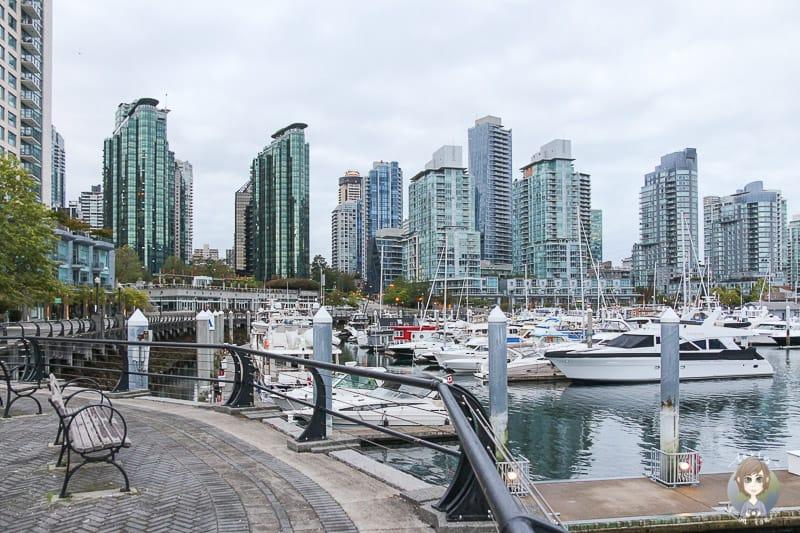 Die Vancouver Sehenswürdigkeiten Coal Harbour