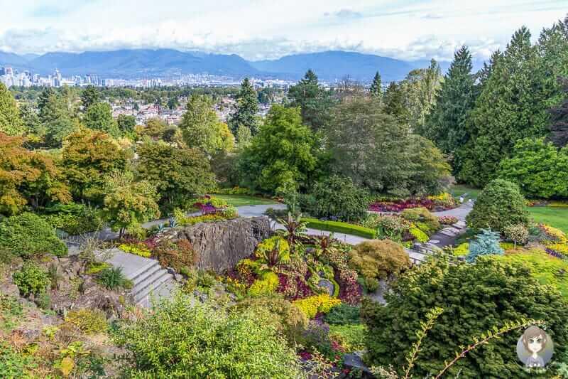 Ein Reisetipp für Vancouver ist der Queen Elizabeth Park eine tolle Sehenswürdigkeit in Vancouver