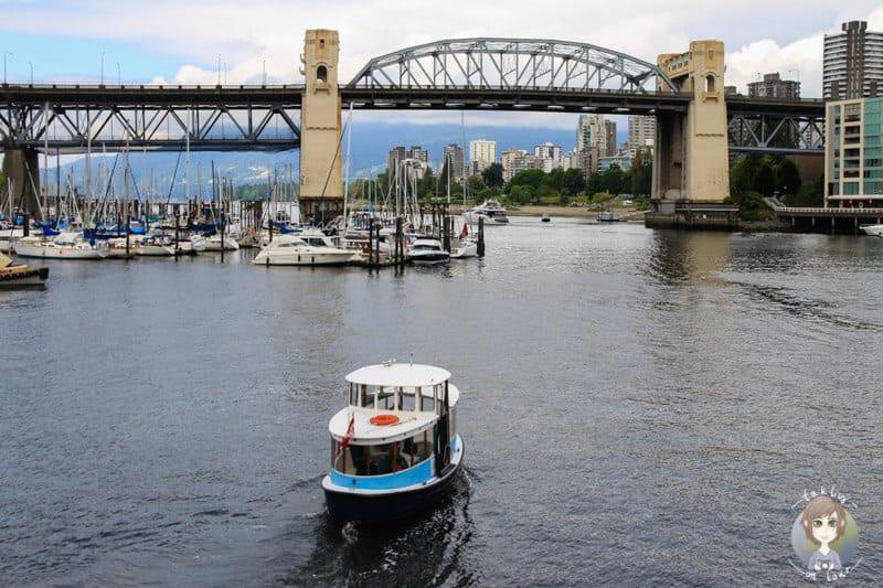 Ein Besuch in Granville Island einer der Vancouver Sehenswürdigkeiten darf in den Reisetipps nicht fehlen