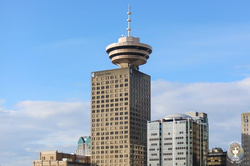Der Vancouver Tower darf bei den Vancouver Sehenswürdigkeiten nicht fehlen