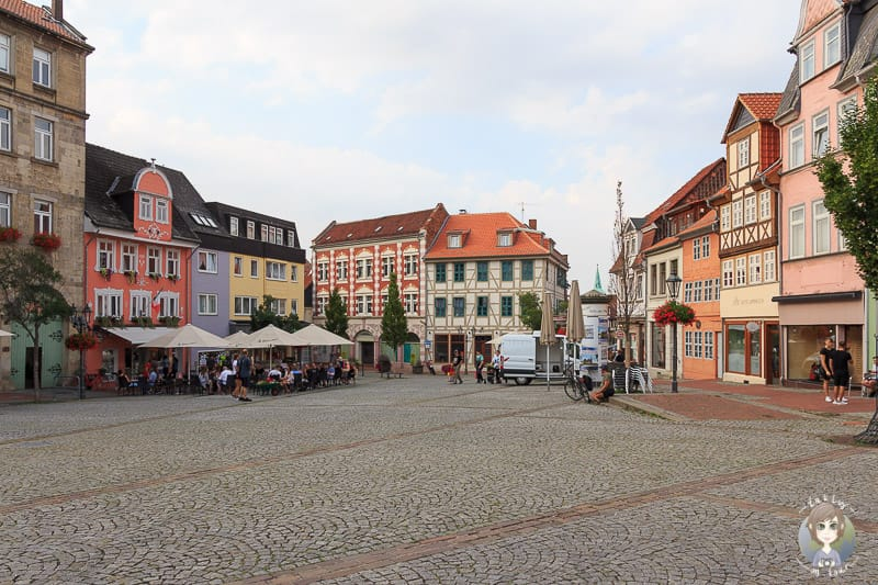 Besuch in Helmstedt auf der Rückreise der Baltikum Rundreise