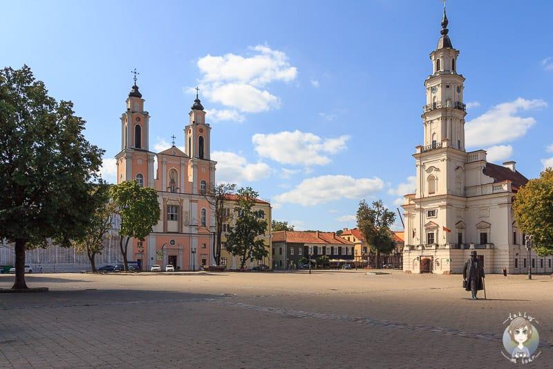 Kaunas Besuch auf der Baltikum Rundreise