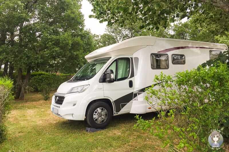 Campingplatz in Pelussin Frankreich