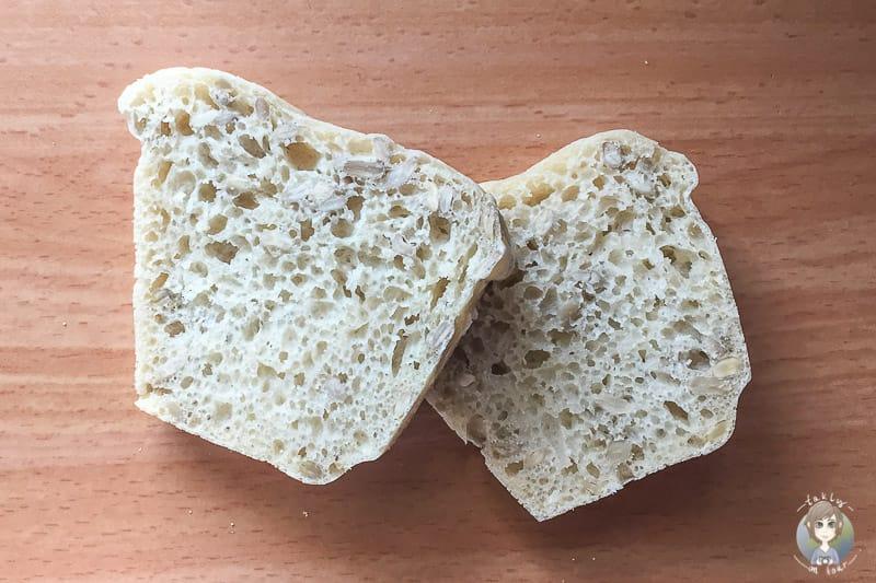 Sonnenblumen Brot backen im Omnia Ofen