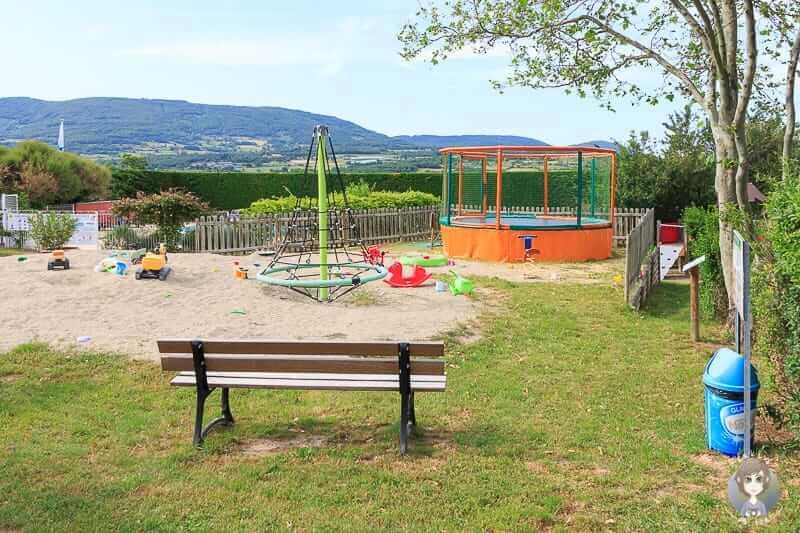 Spielplatz Campingplatz Pelussin