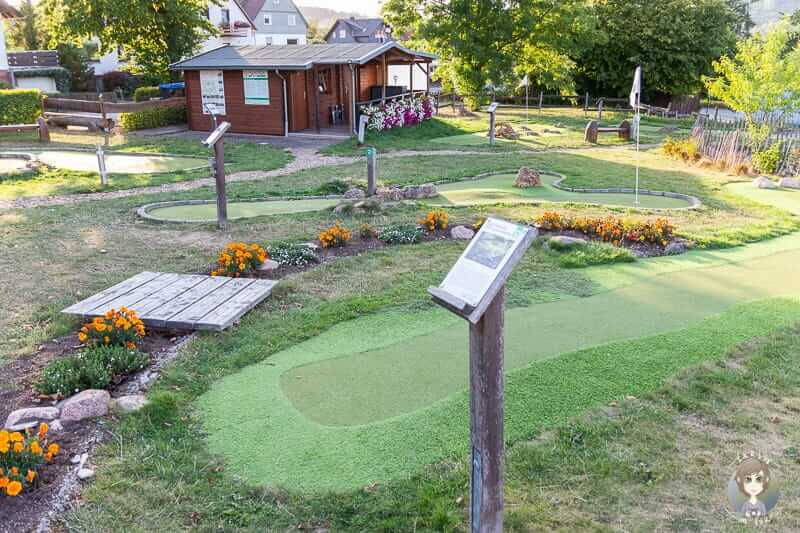Adventure Golf am Diemelsee im Sauerland