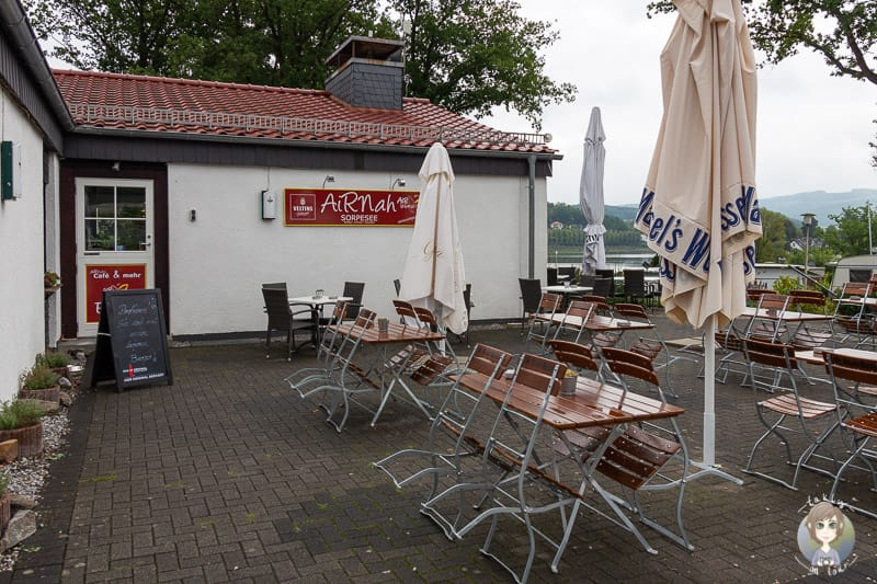 Airnah Restaurant beim Camping am Sorpesee