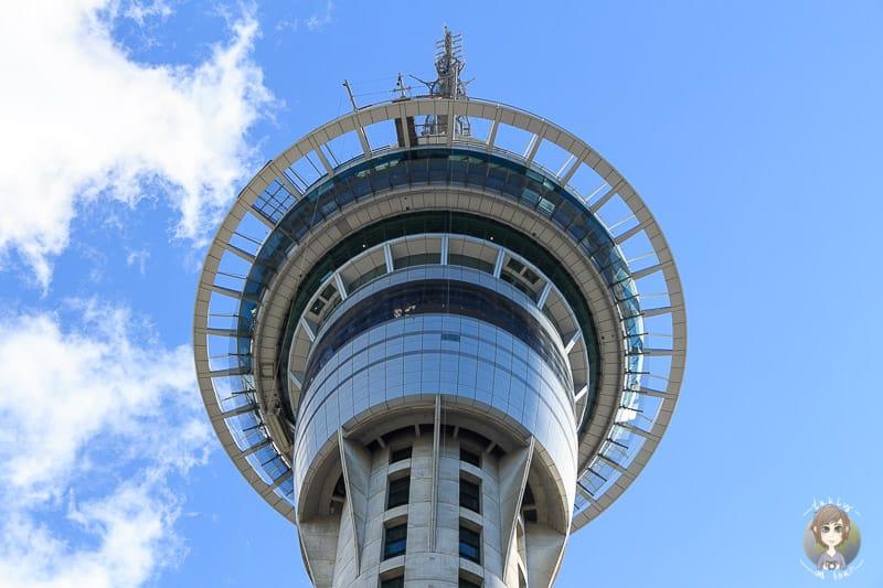 Der Tower in Auckland nach dem Camper mieten in Neuseeland