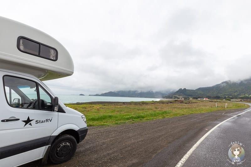 Nach dem Camper mieten in Neuseeland den Urlaub geniessen