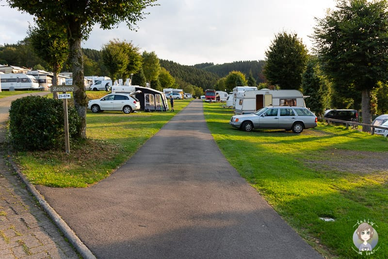 Camping am Biggesee-Listersee auf dem Gut Kalberschnacke