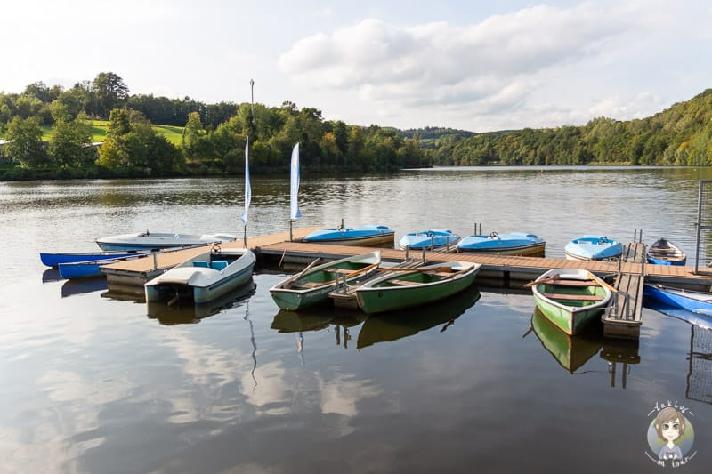Camping im Sauerland nahe dem Obersee