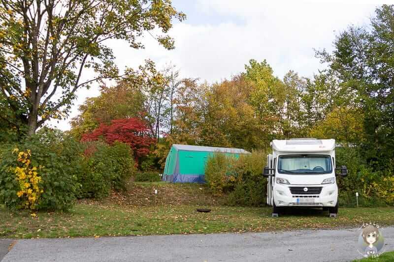 Camping im Sauerland am Hennesee bei KNAUS